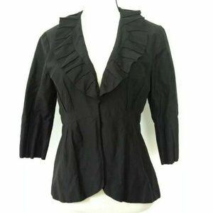 cAbi Cosette Style 693 Black Ruffle Blazer Jacket